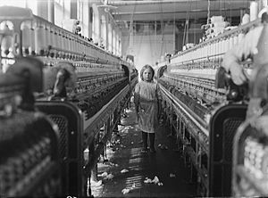 """A little spinner in the Mollohan Mills, ..."