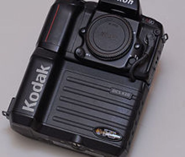 A Kodak Dcs  2 Megapixel Digital Slr Based On A Nikon F90 Body