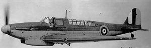 Fairey Fulmar Mk. I carrier-borne fighter of R...