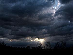 Sunrise in Treviglio (BG), Lombardia, Italy.