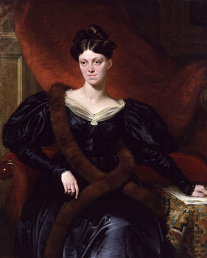 Harriet Martineau, by Richard Evans (died 1871...