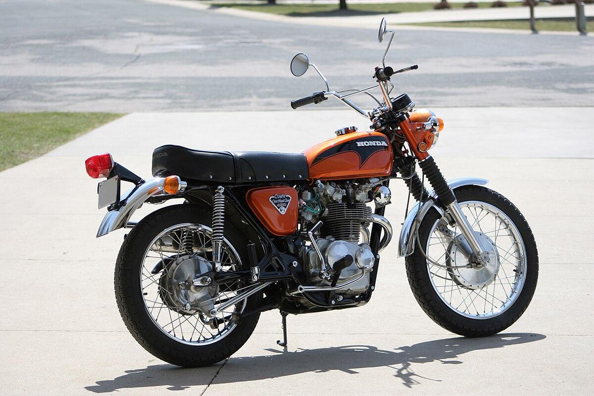 hight resolution of honda scrambler motorcycle