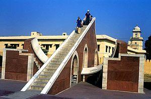 Jaipur - Jantar Mantar - Laghu Samrat Yantra