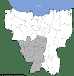 City (Kota Administrasi) of South Jakarta, div...