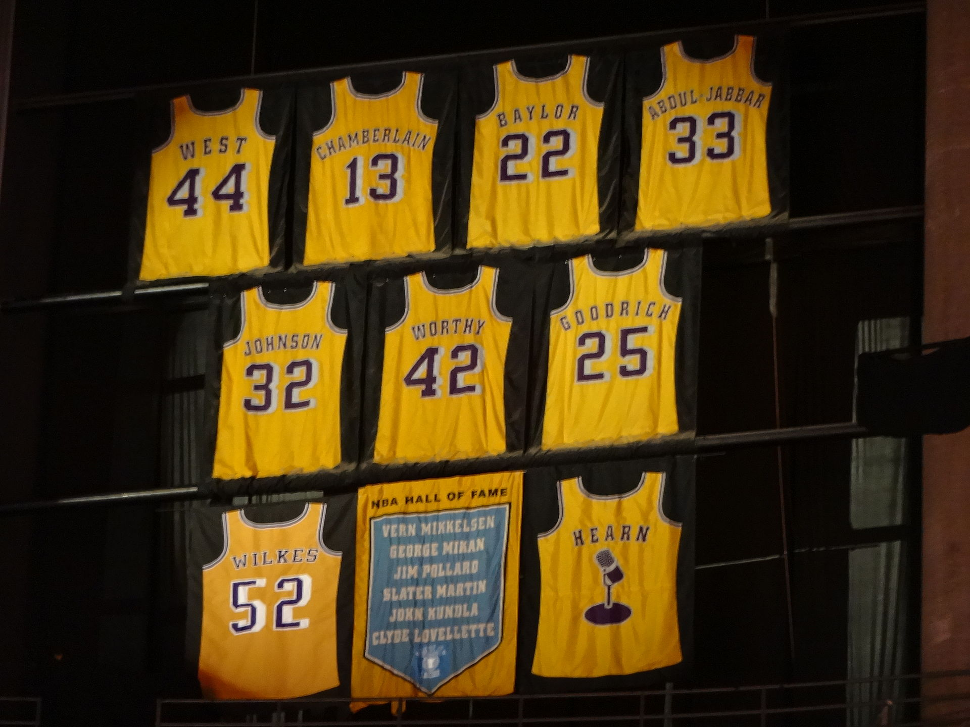 List Of National Basketball Association Retired Jersey