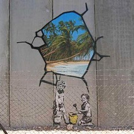 Banksy Raja Shehadeh And The Israeli West Bank Barrier