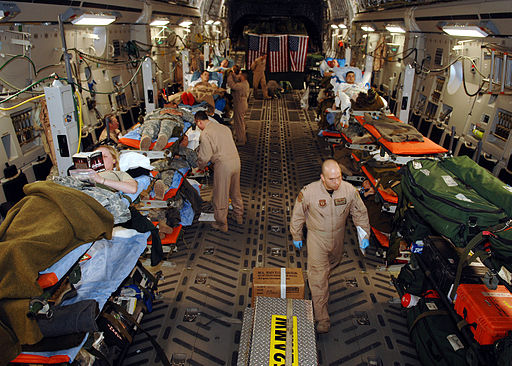Medevac mission, Balad Air Base, Iraq
