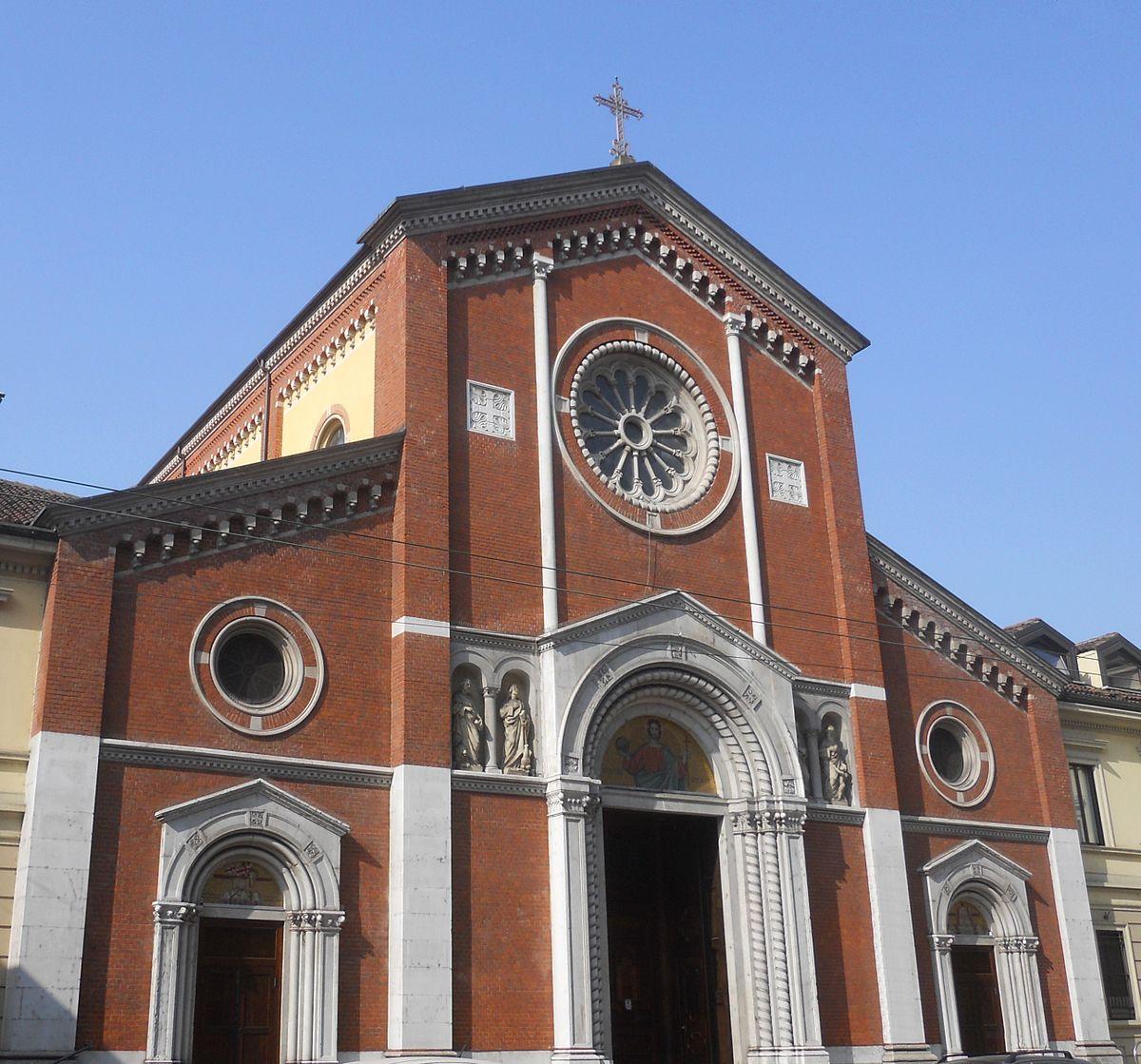 Chiesa del Santissimo Redentore Milano  Wikipedia