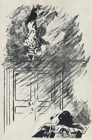 Illustration by Édouard Manet for a French tra...