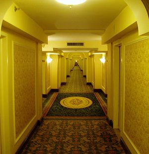 Hallway at the Royal York Hotel
