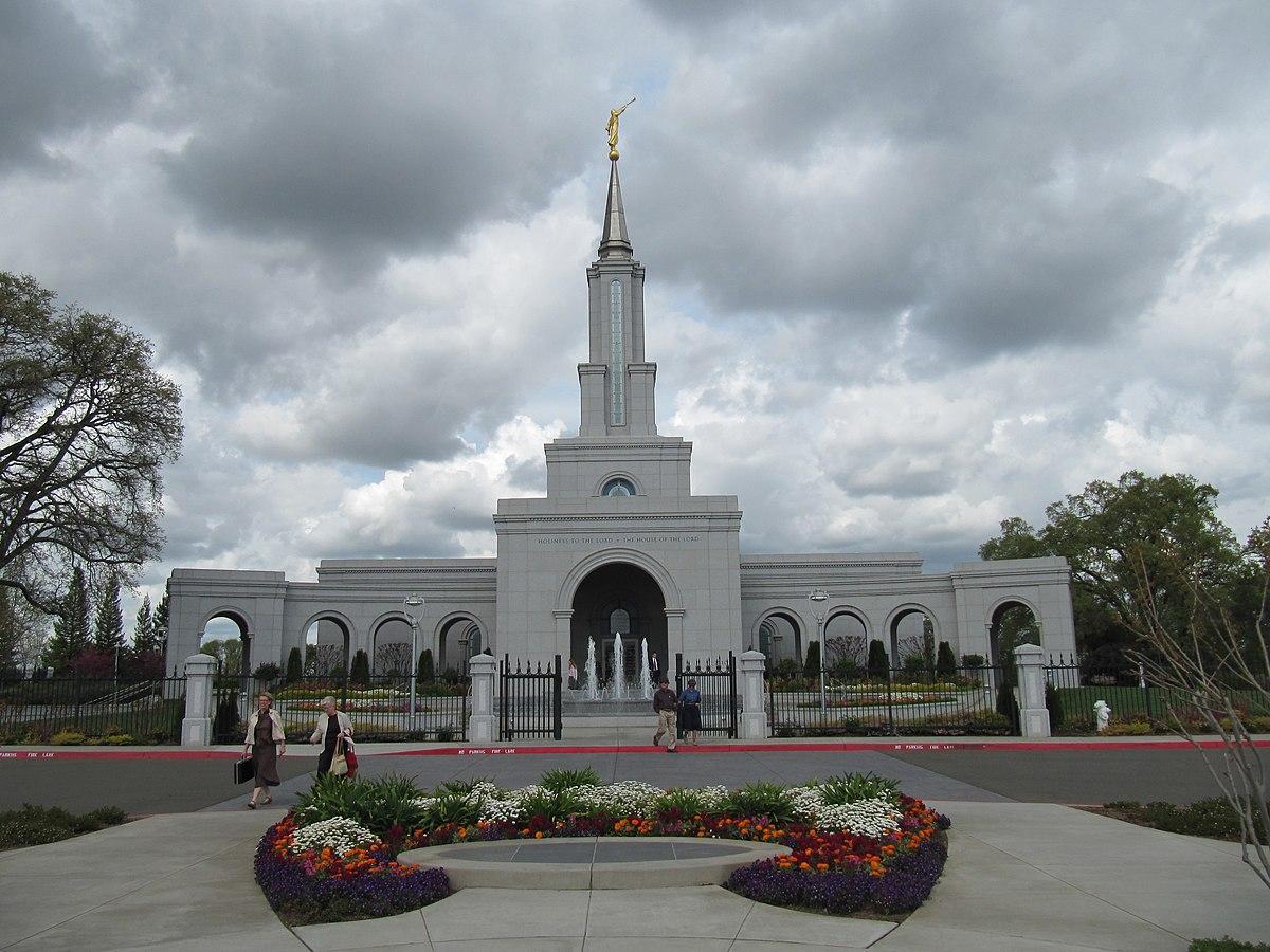 Sacramento California Temple  Wikipedia