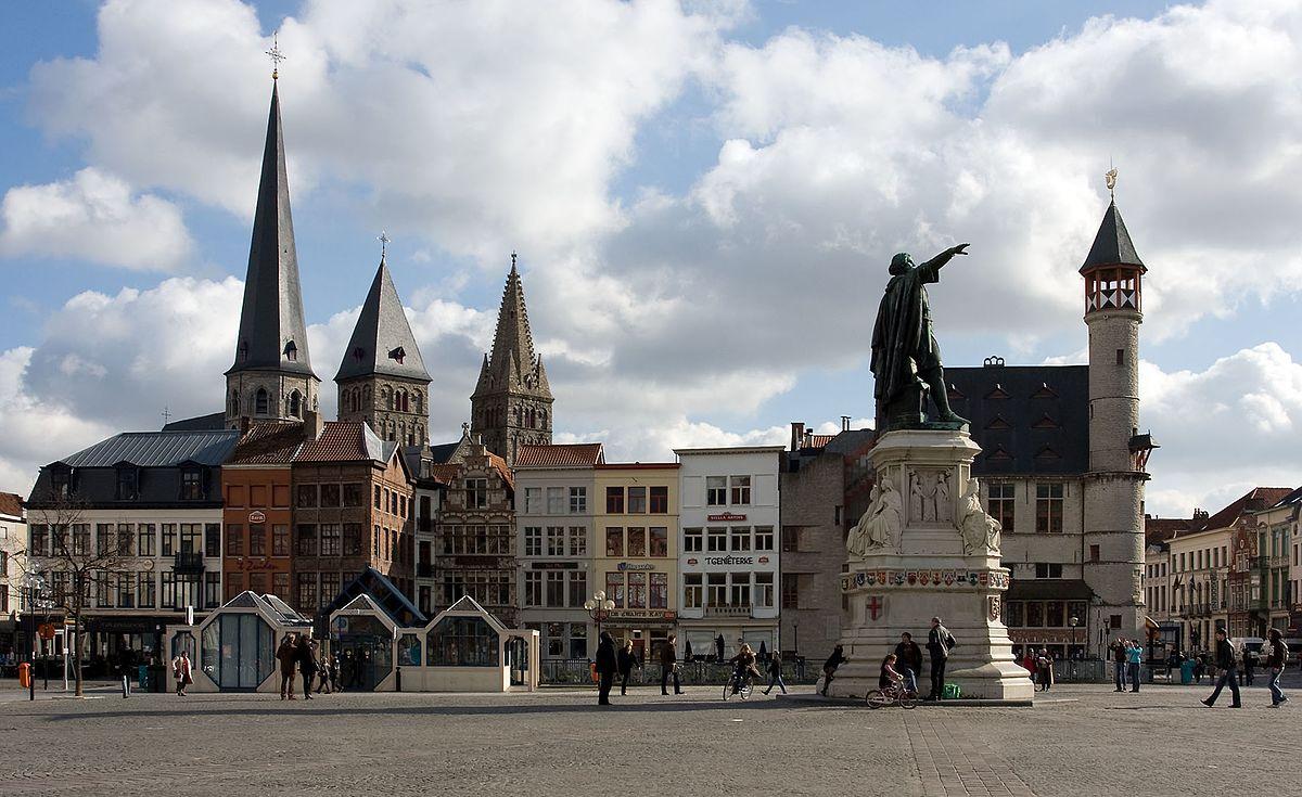 Vrijdagmarkt Ghent  Wikipedia