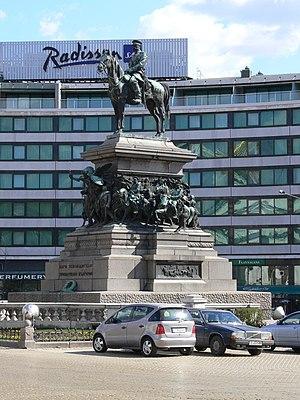 Monument to the Tsar Liberator, Sofia, Bulgaria