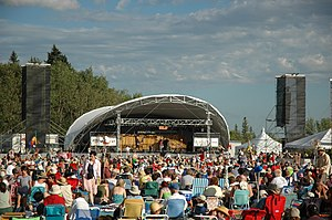 English: Winnipeg Folk Festival 2006.