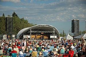 English: Winnipeg Folk Festival 2006.