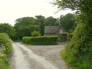 English: A country house in an area known as C...