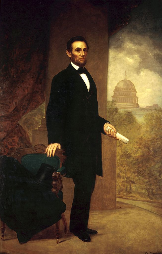 FileAbraham Lincoln by William F Cogswell 1869jpg