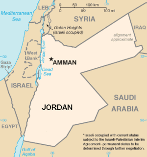 The location of Municipality of Greater Amman ...