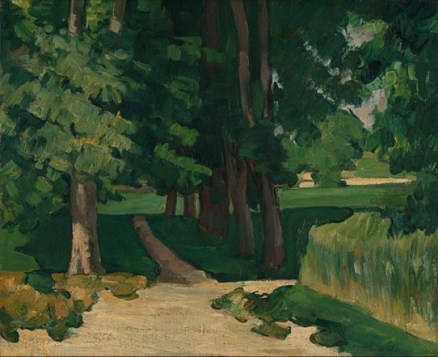 Bastide du Jas de Bouffan by Paul Cézanne