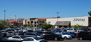 English: The Clackamas Town Center mall, viewe...