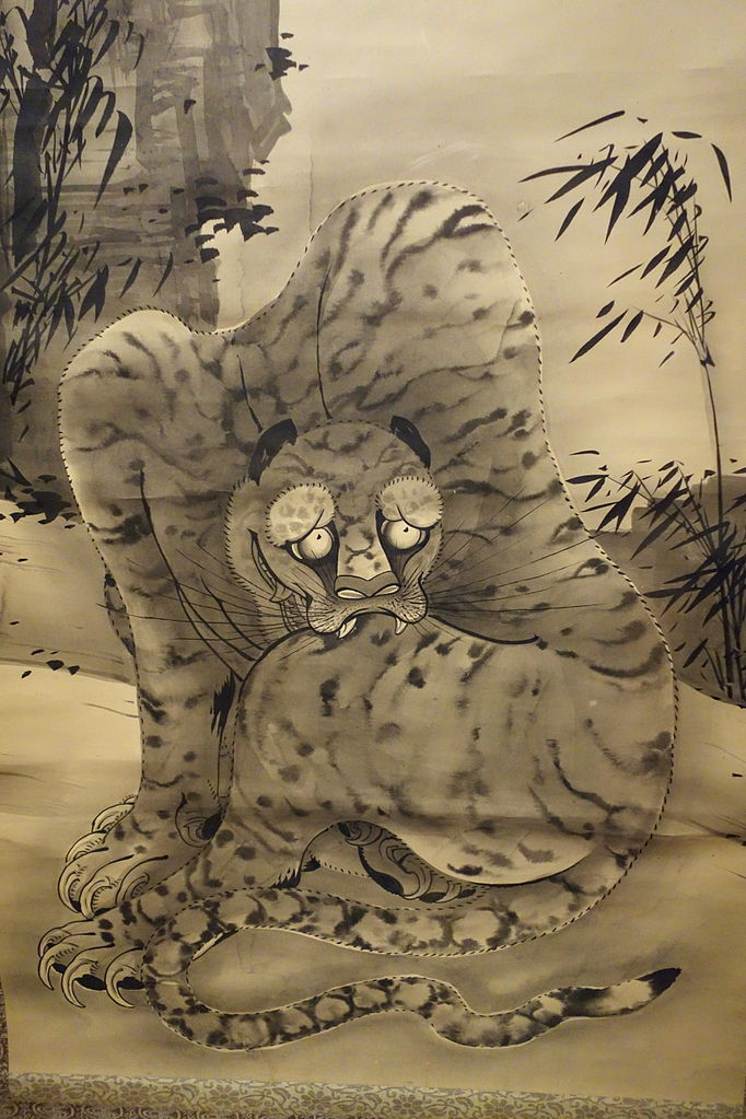 Animal Love Wallpaper File Dragon And Tiger By Soga Shohaku Late 1770s Museum