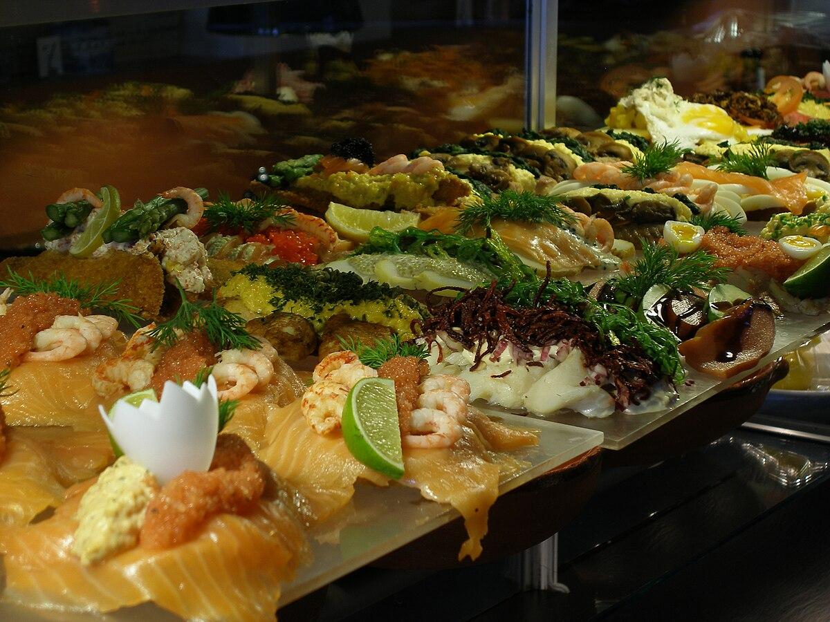 table snack cuisine