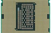 Intel CPU Core i7 2600K Sandy Bridge bottom