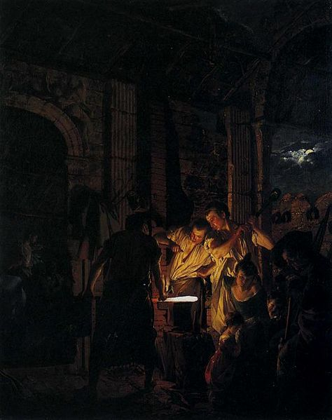 File:Joseph Wright of Derby. A Blacksmith's Shop.1771.jpg