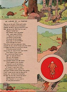 Le Livre Et La Tortue : livre, tortue, Lièvre, Tortue, Fontaine), Wikipédia