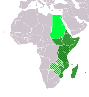 Eastern Africa (UN subregion) East African Com...