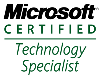 English: Microsoft Certified Technology Specialist