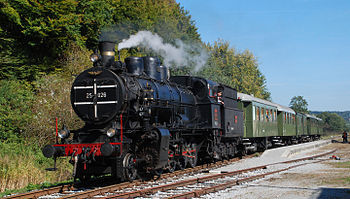 English: Museum train, property of Slovenske ž...
