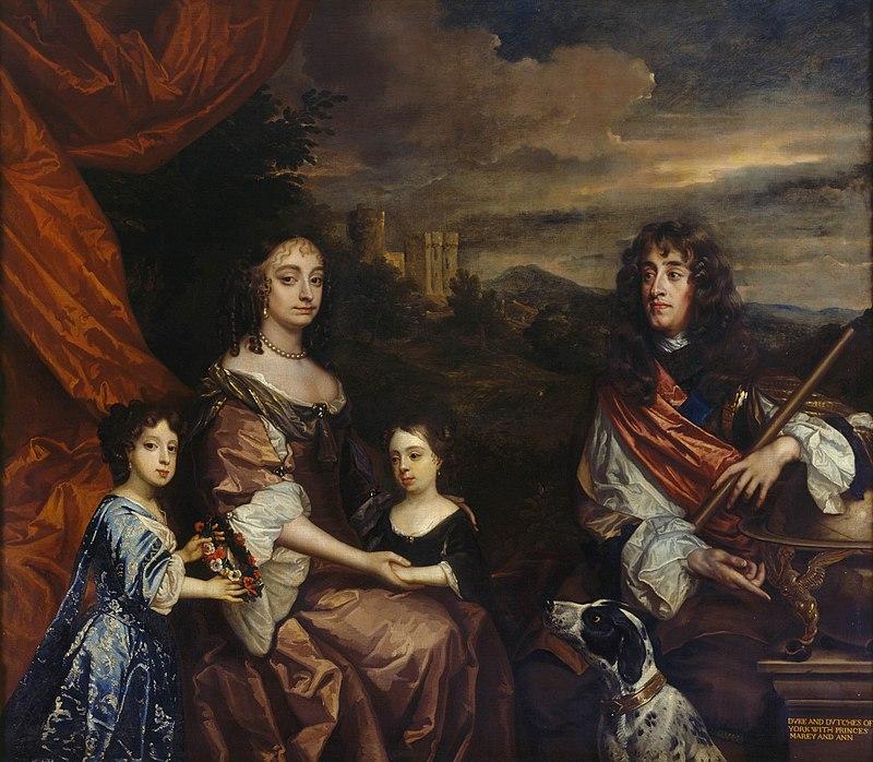Resultado de imagen para Fotos de Guillermo III y María II