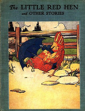 """English: Cover of """"The Little Red Hen"""""""