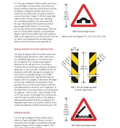 page uk traffic signs manual chapter 4 warning signs 2013 pdf 30 wikisource the free online library [ 1024 x 1448 Pixel ]