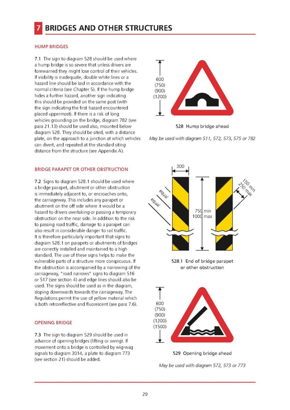 medium resolution of page uk traffic signs manual chapter 4 warning signs 2013 pdf 30 wikisource the free online library