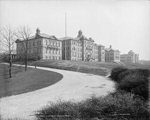 English: University of Cincinnati, Ohio. c.190...