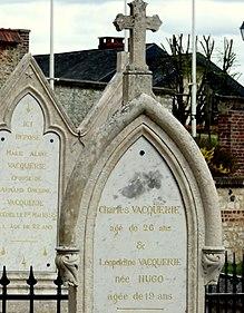Ou Est Enterré Victor Hugo : enterré, victor, Léopoldine, Wikipédia