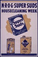 """N-R-O-G super suds housecleaning week&qu..."