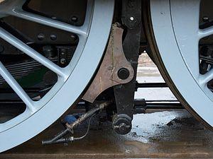 English: 60163 Tornado brake shoe