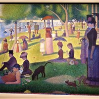 """A Sunday Afternoon on the Island of La Grande Jatte"" by Georges Seurat"