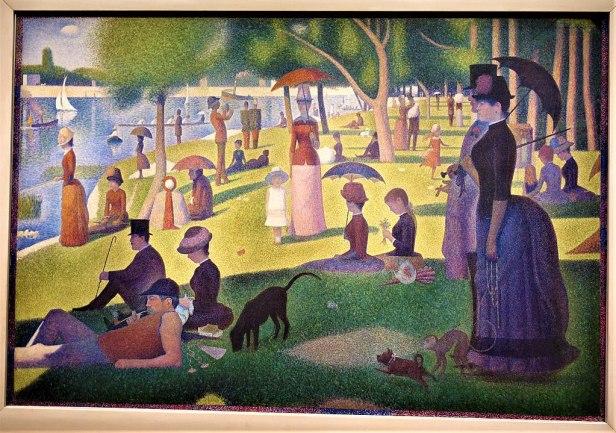 A Sunday on La Grande Jatte by Georges Seurat