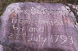 Inscription at the end of the Alexander Macken...
