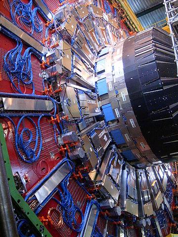 CMS-Detektor des LHC (Wikimedia)