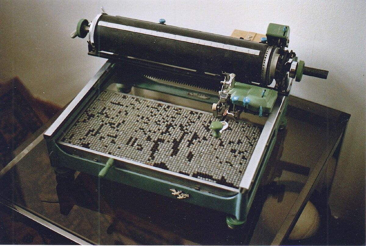 Chinese typewriter - Wikipedia