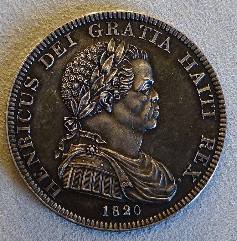 FileCrown Henry I of Haiti Henri Christophe Haiti