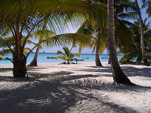 Beach, Dominican republic