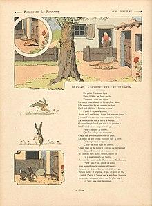 Le Chat, La Belette Et Le Petit Lapin : chat,, belette, petit, lapin, Chat,, Belette, Petit, Lapin, Wikipédia