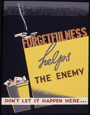 Forgetfulness helps the enemy. Don't let it ha...