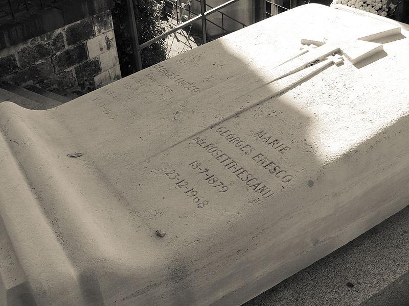 File:Grave of George Enescu -Père Lachaise Cemetery 3.jpg